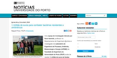 DelNAM featured on U.Porto news