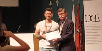 Luís Moreira Wins Best Communication Award