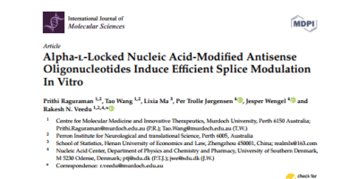 New article published in the International Journal of Molecular Sciences